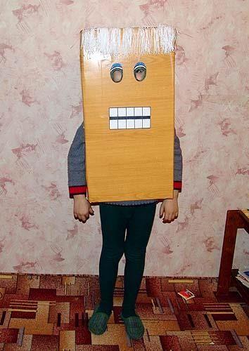 Юмор детские новогодний костюм канорейка
