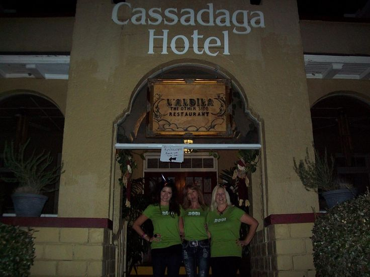 the cassadaga hotel is always booked before their halloween night we could only get our - Cassadaga Halloween