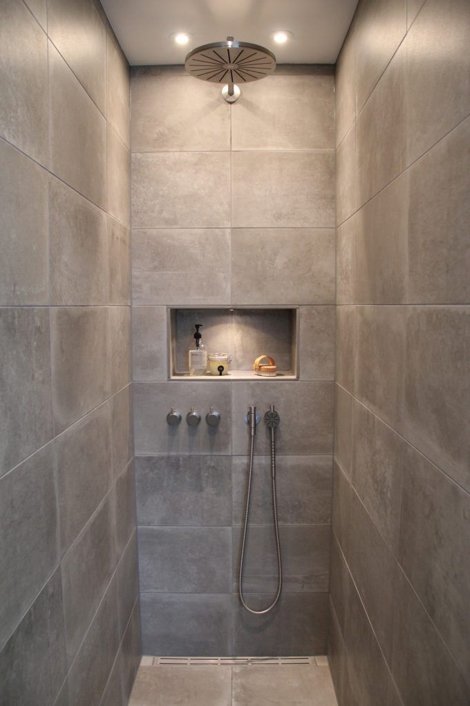 Our bathroom with shower from Vola - www.blogliebling.dk