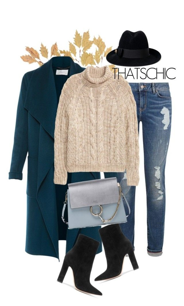 """""""Casual chic"""" by gold-candle23 ❤ liked on Polyvore featuring Tommy Hilfiger, L.K.Bennett, H&M, Gianvito Rossi, Chloé and Gucci"""