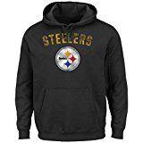 Pittsburgh Steelers Kick Return Pullover Hooded Sweatshirt Large