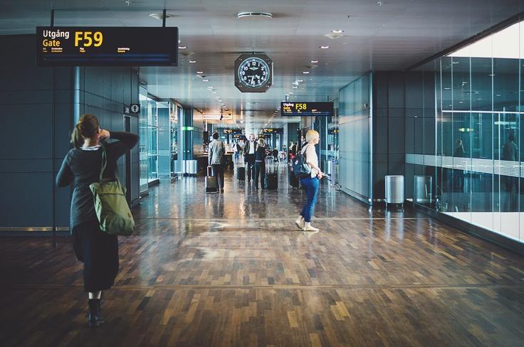 Stockholm Arlanda Airport - Jenny das Design