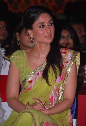 Karishma Kapoor in a Sari