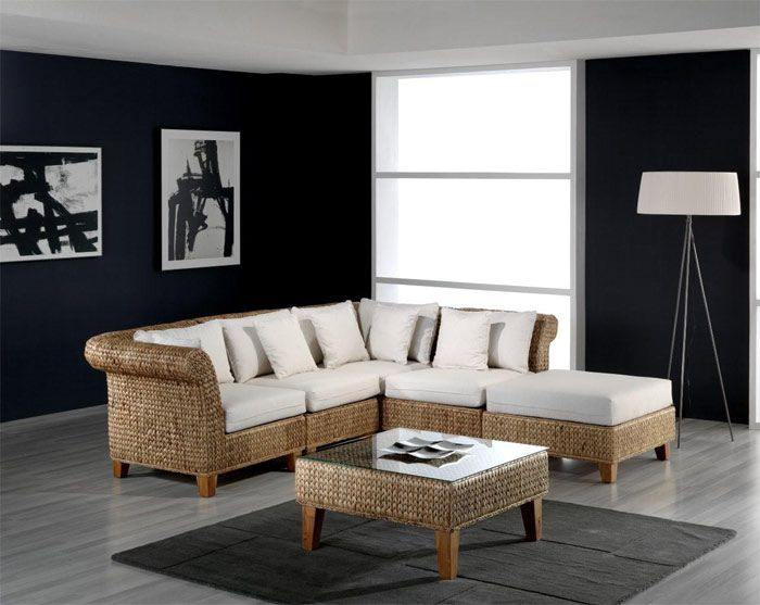 Honolulu Sectional Cane Sofa And Individual Items