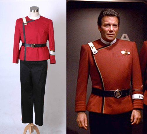 Star Trek II-VI Wrath of Khan starfleet Costume Uniform (2XL-Man) @ niftywarehouse.com #NiftyWarehouse #StarTrek #Trekkie #Geek #Nerd #Products