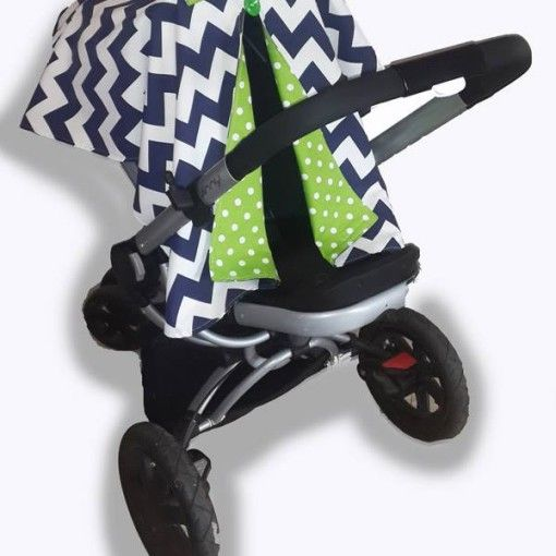 Navy chevron car seat canopy 2 #chevron #stone #carseatcanopy #moocachoo #babyproduct #handcrafted #onlineshopping #mommy #navy #green #polka #pramcover #summermusthave
