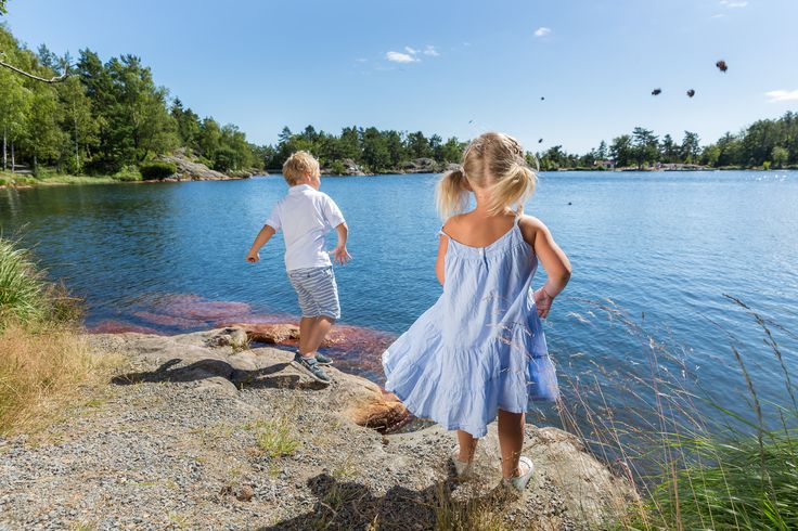 Baneheia is a recreational area in Kristiansand Southern Norway marked with trails. You can also go swimming in the fresh lake. Photo: Landskapsfotografene©Visit Sørlandet