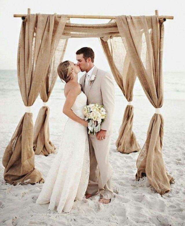 Long Beach Wedding Ceremony Only: Beach Wedding Inspiration, Beach