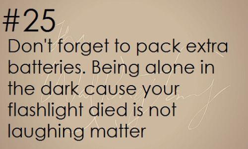 Zombie Apocalypse Survival Tip #25