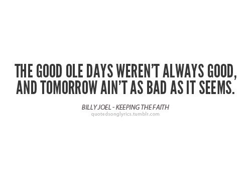 Billy Joel - Keeping the faith