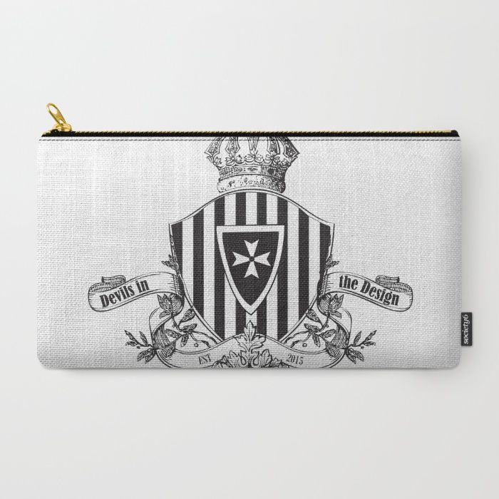 Devil's In The Design - Limited Edition Carry-All Pouch