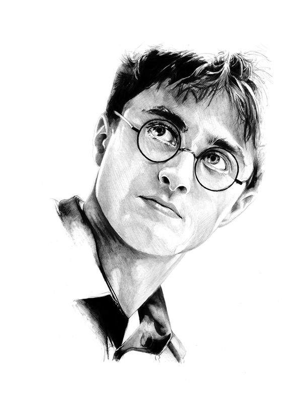Line Drawing Harry Potter : Best images about harry potter artwork on pinterest