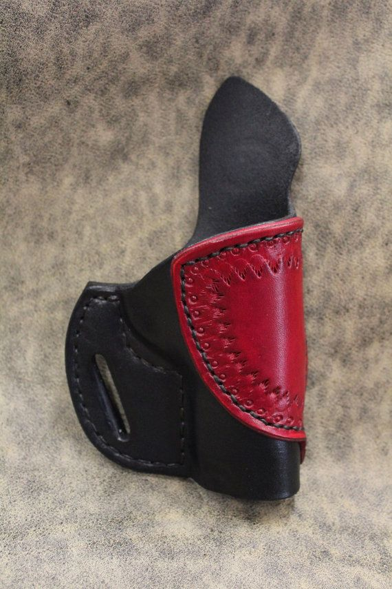 Custom OWB Askins Style Holster for 1911 Models by TinBadgeLeather, $74.95