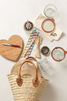 Picnic basket for two - what a great Wedding Shower gift this would make!!!