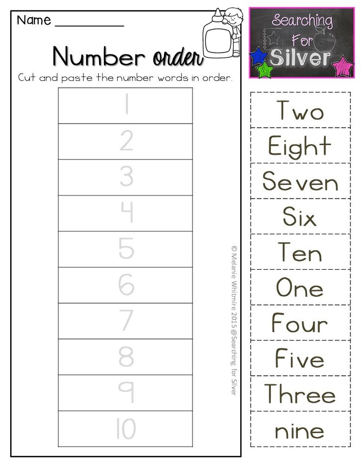 FUN activities and printables for learning NUMBER WORDS!