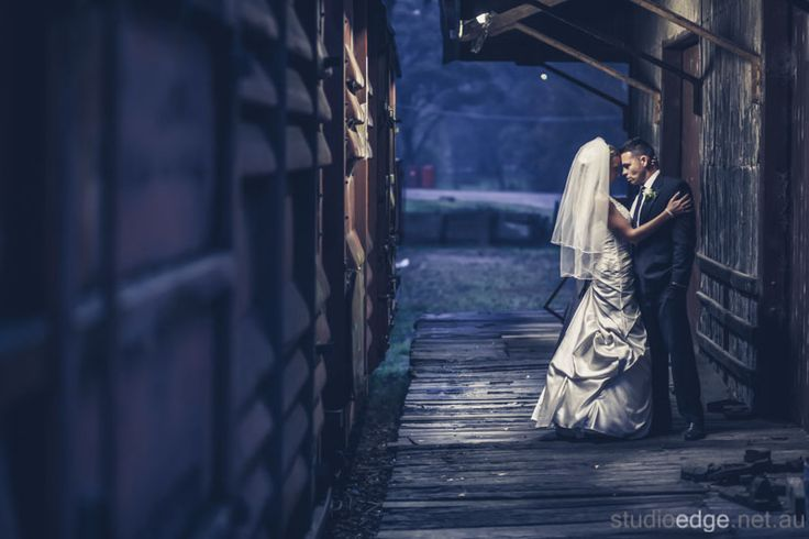 Siana and Ethan were an absolute pleasure. This image was taken at the Healesville Train Station