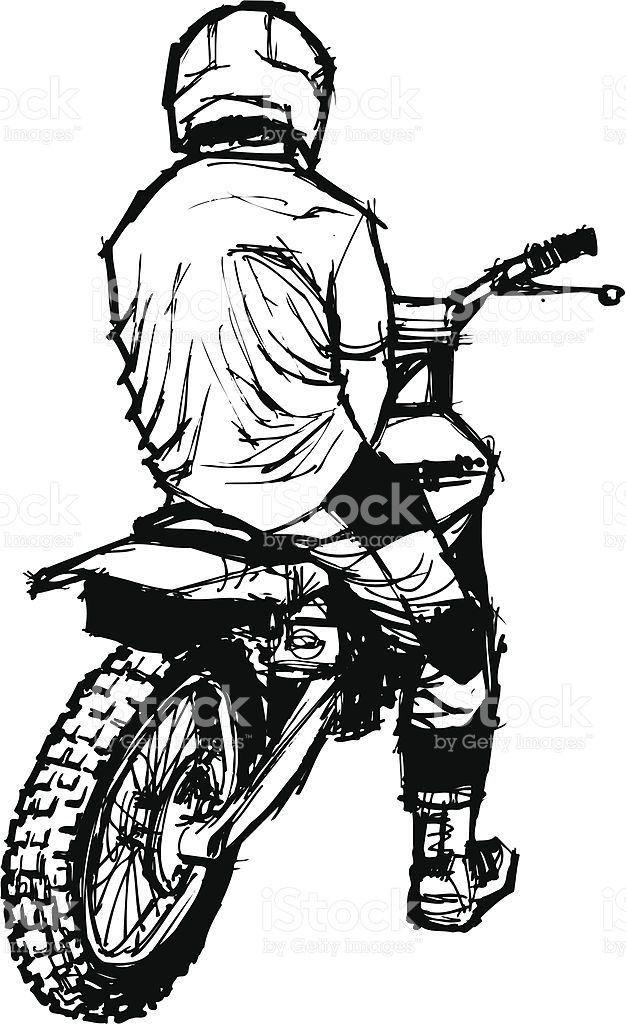 Pin Di Alessandro Su Hvg Disegno Di Bicicletta Moto Da Cross