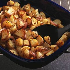 Garlic oven potatoes