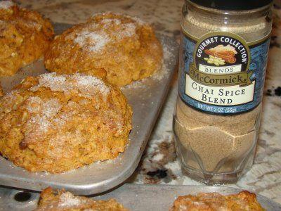 Judy's Kitchen: CHAI-SPICED SWEET POTATO MUFFINS