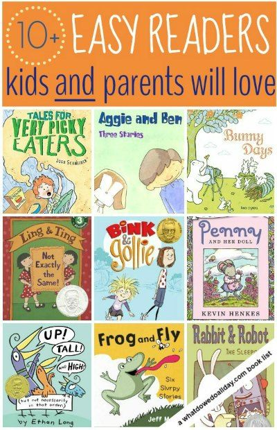 """Love the alternate titles to this post: """"10 Easy Readers that Won't Make You Want to Poke Your Eyes Out"""" or """"Early Readers that Parents Will Actually Want to Listen to their Kids Take 10 Minutes Per Page to Read"""". Definitely saving this post for reference!"""