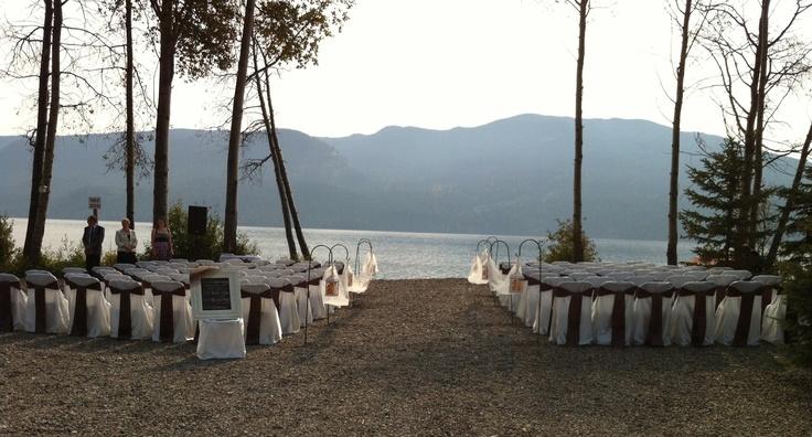 Ceremony space: Birch Bay Resort- Tina & Mike (Sept '12)