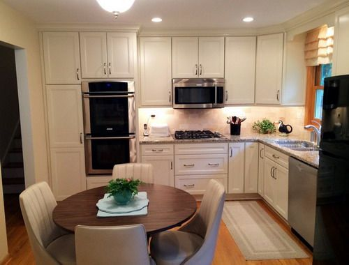 Small White L Kitchen small l shaped kitchen layout ideas - creditrestore