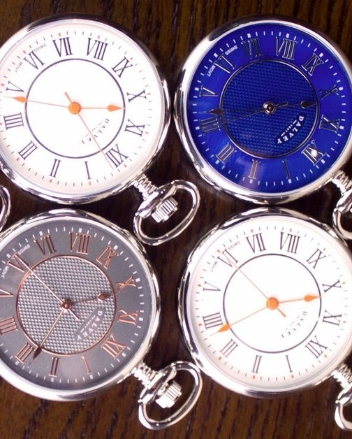 """Take a look at our range of luxury pocket watches. The perfect way to say """"Thank You"""" for everything!"""