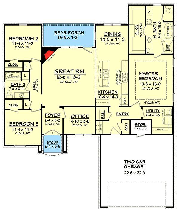337 best House Plans images on Pinterest Architecture Floor plans