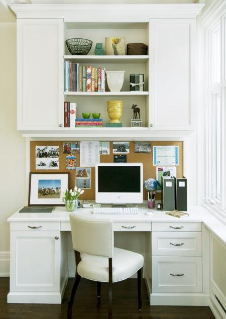 58 best images about kitchen desks on pinterest built in for Kitchen office nook
