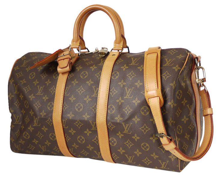 Louis Vuitton Monogram Keepall Bandoulière 45