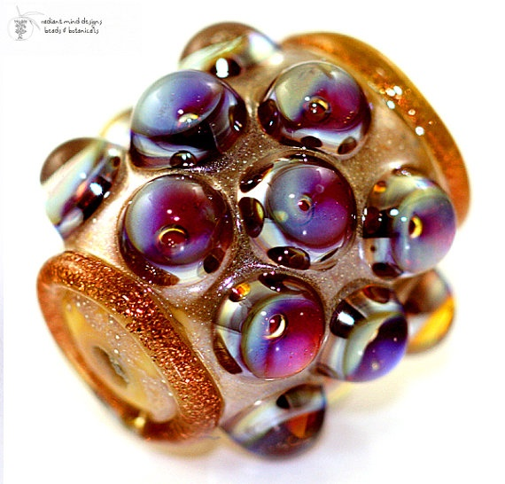 Radiant Glass - lampwork beads.Beads Golden, Glasses Beads, Colors, Lampworking Beads, Glasses Lampworking, Beads Buttons Etc, Barrels Handmade, Golden Kalypso, Kalypso Barrels