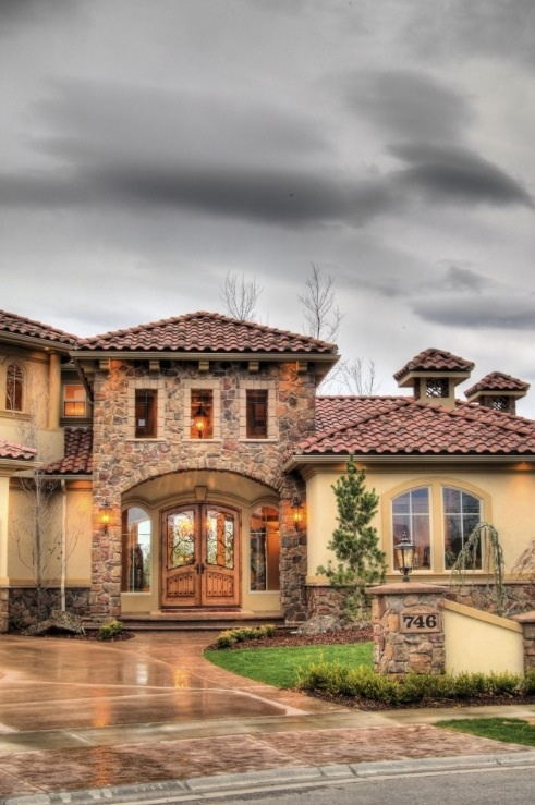 49 Best Exterior Home Plans Images On Pinterest Architecture Haciendas And Tuscan Style
