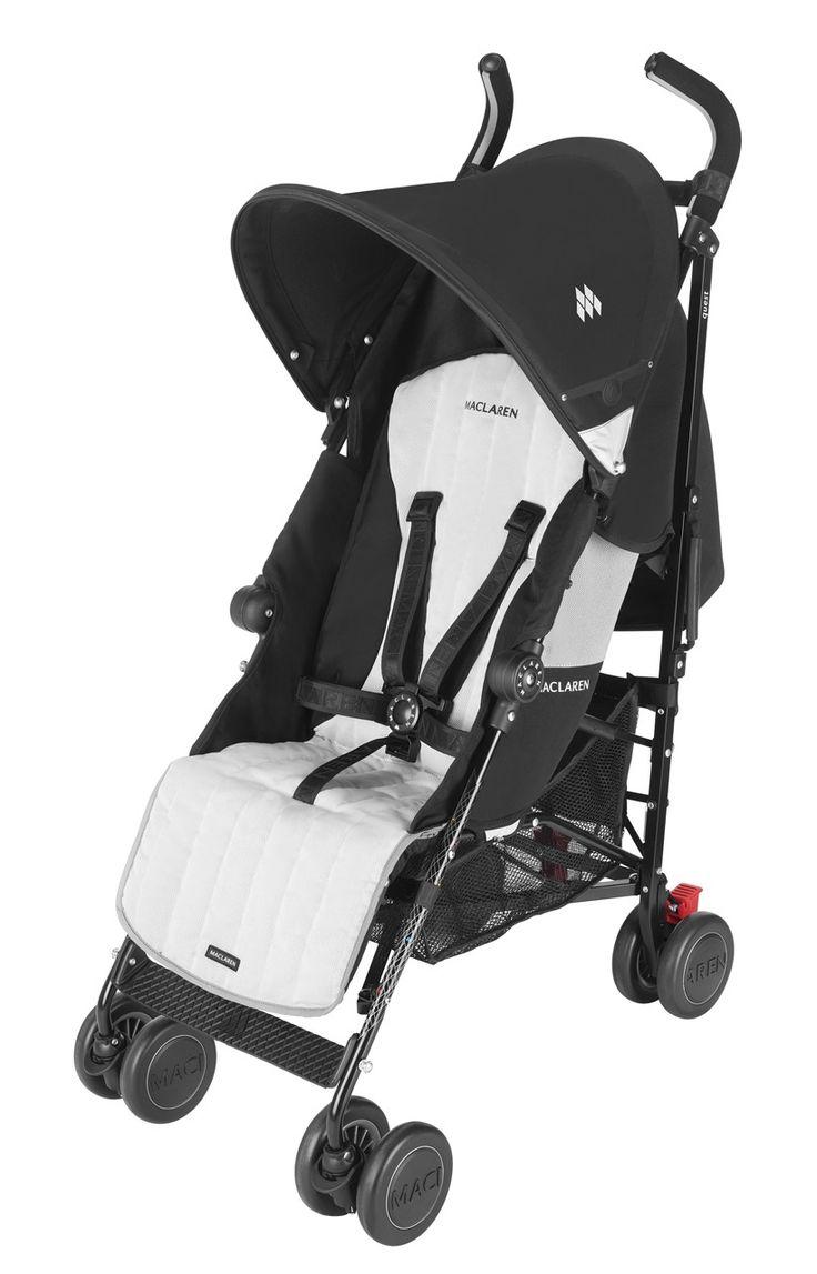 #Maclaren Quest Sport Buggy (2013) - Black/Silver #pushchair  #buggy #babyproduct http://www.babydino.com/maclaren-quest-sport-buggy-2013-black-silver