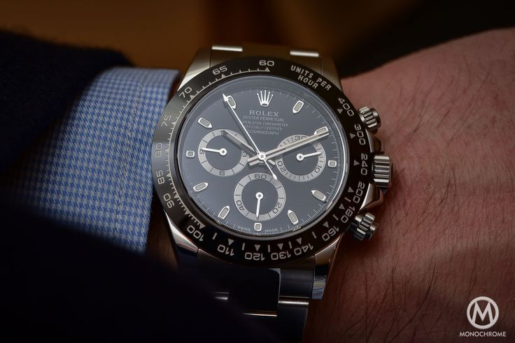 Rolex Daytona 116500LN in steel with Cerachrom black bezel - Hands-on with live photos, specs and price - Monochrome Watches
