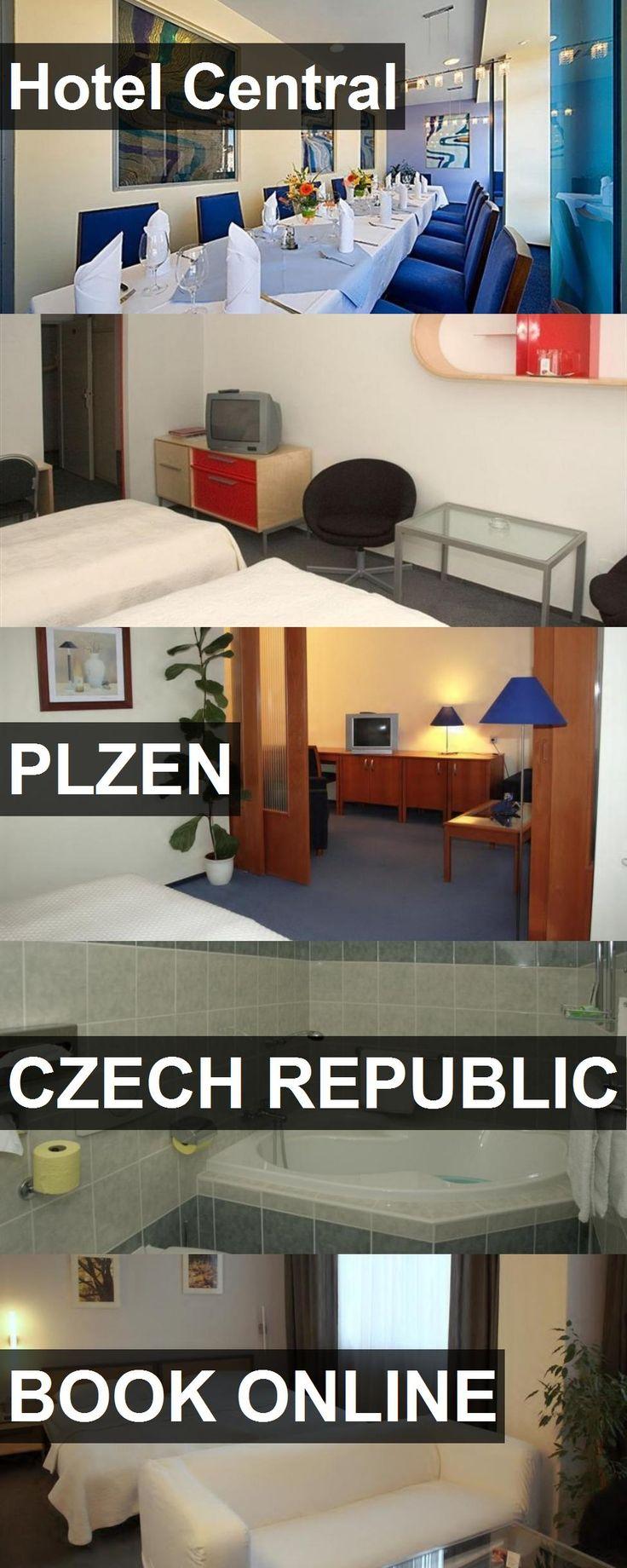 Hotel Central in Plzen, Czech Republic. For more information, photos, reviews and best prices please follow the link. #CzechRepublic #Plzen #travel #vacation #hotel
