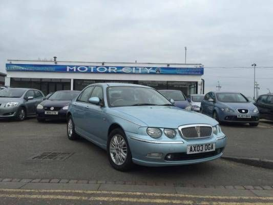 Used (03 reg) Rover 75 1.8 T Club SE 4dr for sale on RAC Cars