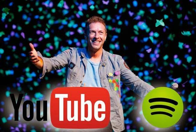 LUPIN4TH MAGAZINE: I Coldplay caricano tutta la discografia su YouTub...