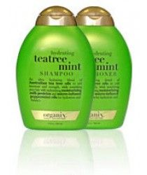 organix tea tree mint shampoo and conditioner, tea tree & mint organix