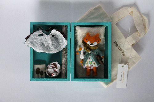 Mini fox set Moni