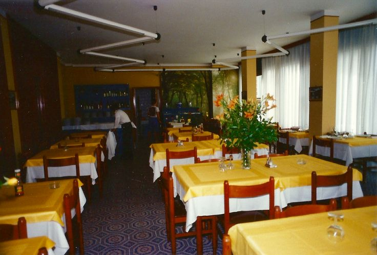 The old #diningroom at #HotelRudyCervia