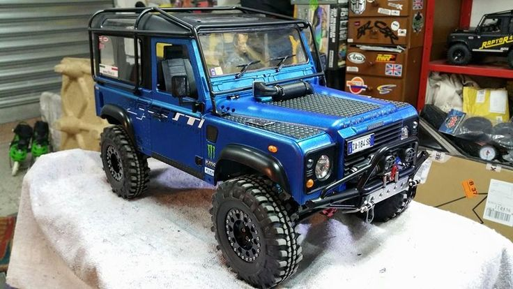 sweet land rover defender rc rc nitro trucks pinterest. Black Bedroom Furniture Sets. Home Design Ideas