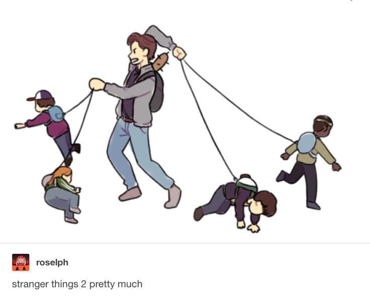 Steve Harrington is the best babysitter | Stranger Things 2