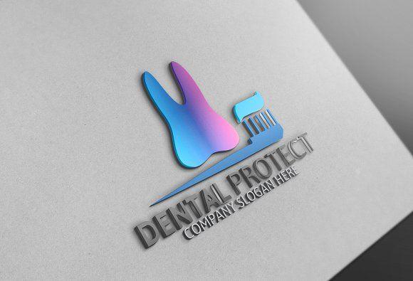Dental Protect Logo by Josuf Media on @creativemarket