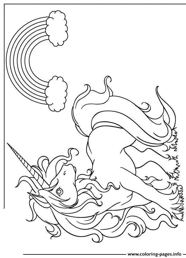 Coloring Pages Unicorn Cute : Ideas about cartoon unicorn on pinterest cute