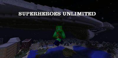 Minecraft download Superheroes Unlimited 1.6.4 | Download Free Minecraf Mod