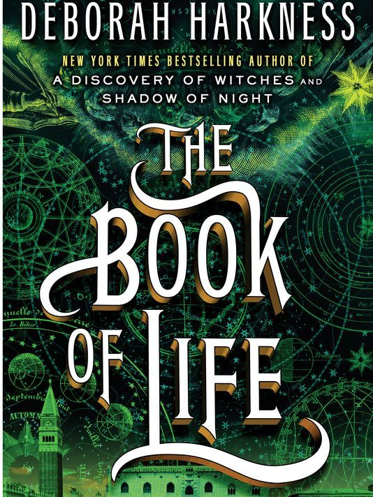Third book in the All Souls Trilogy:  The Book of Life by Deborah Harkness...getting mine tomorrow!