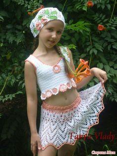 Пляжная юбка для девочки. Обсуждение на LiveInternet - Российский Сервис Онлайн-Дневников