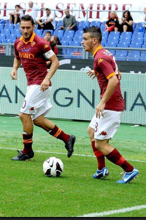 #Florenzi #Totti La Storia del Calcio
