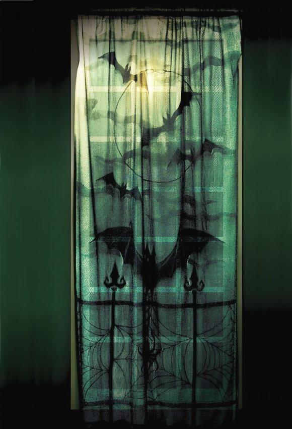 Batty curtains