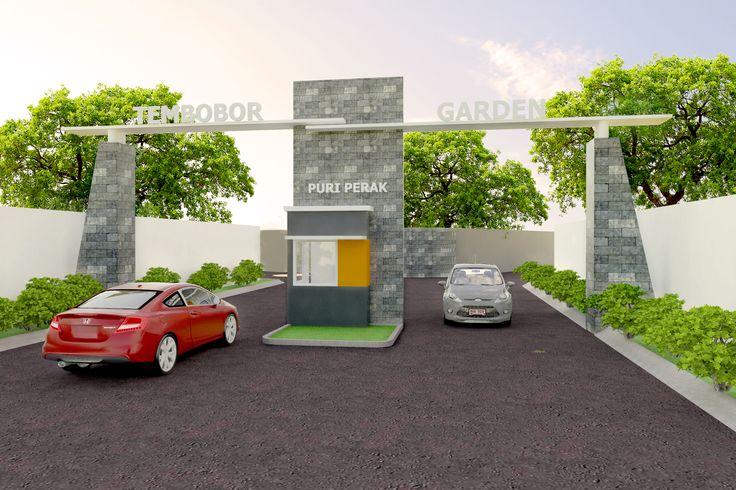 Gate Perumahan Tembobor Garden